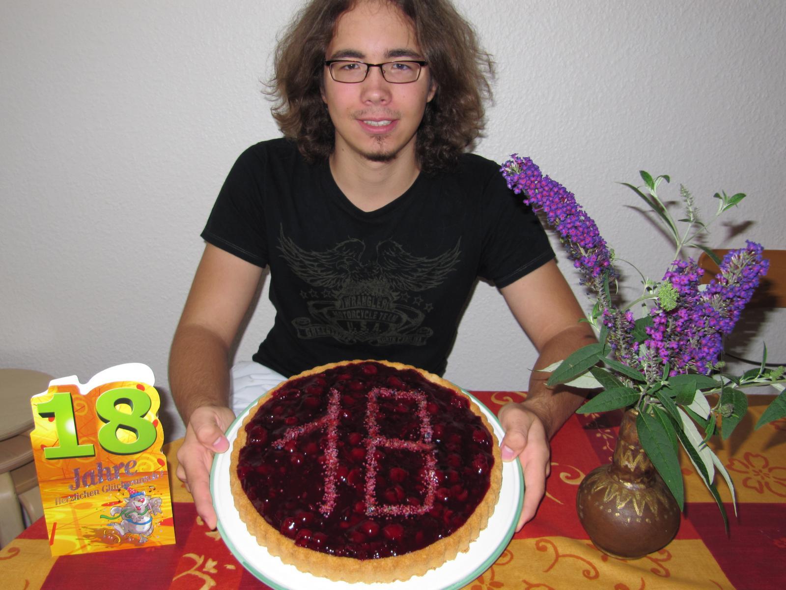 Tobias wird 18