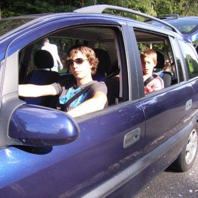 Tobias fährt