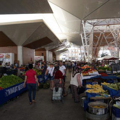 Markt wie in Russland ;-)