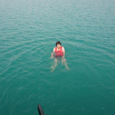 schwimmen im Cannyon