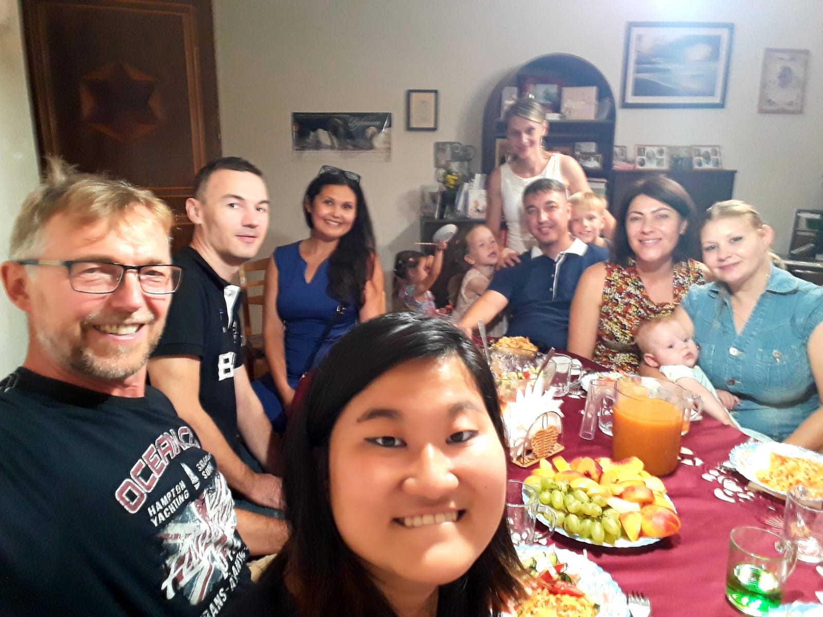 Mit Freunden in unserer Alten Wohnung