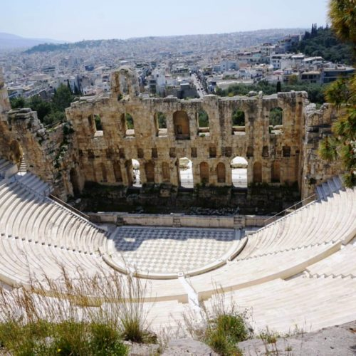 Theaterruine in Athen