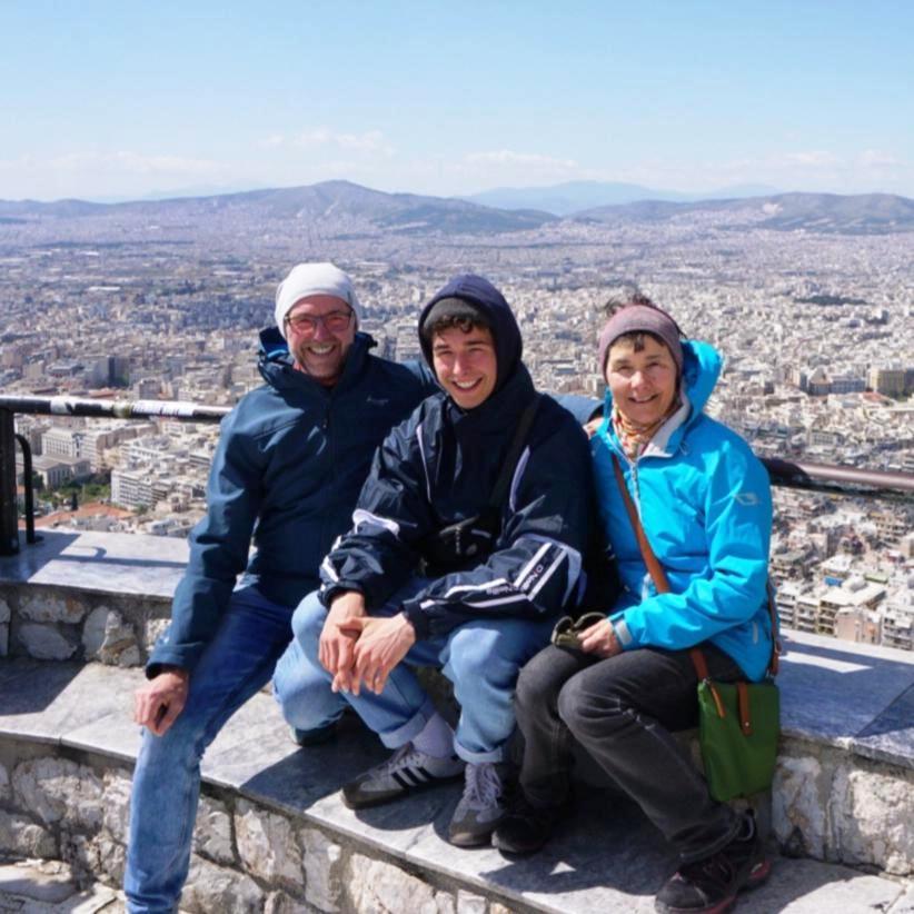 Mit Manuel in Athen