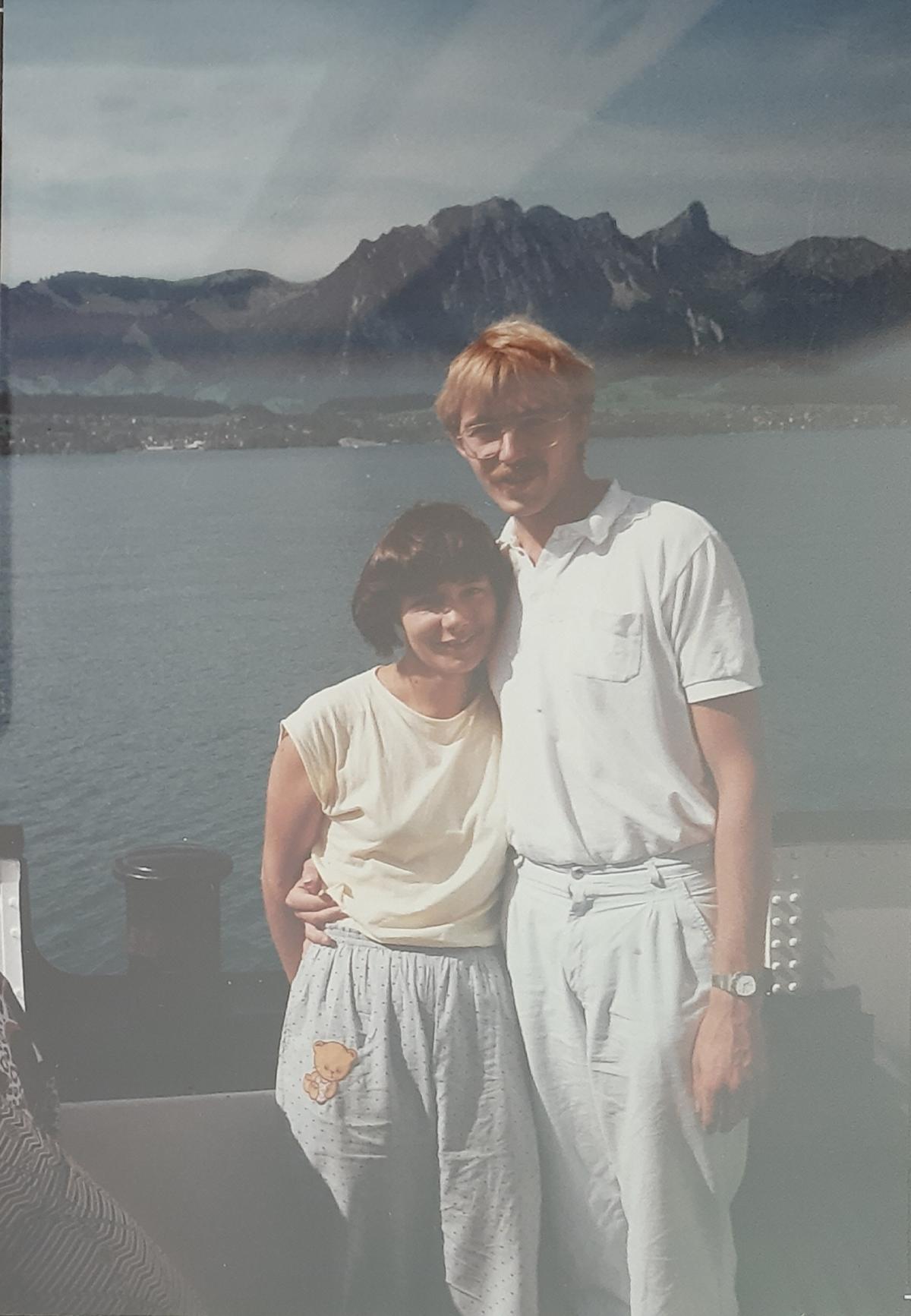 Bootsfahrt 1990